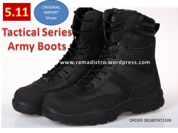 511 jipper black colour tactical boots