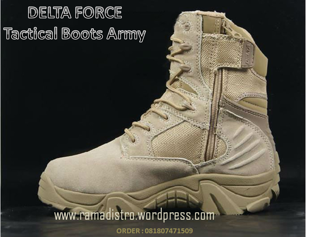 Jual Sepatu Import Delta Force USA Black And Desert Gurun