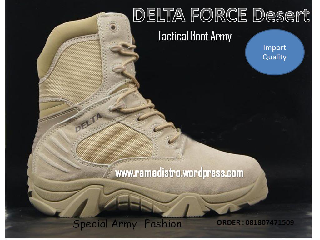 Jual Sepatu Import Delta Force Usa Black And Desert Gurun Colour Pdl Tni Polri Security Ter